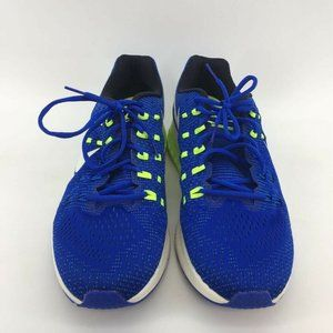 Nike Mens Air Zoom Structure 19 Running Shoes Blue